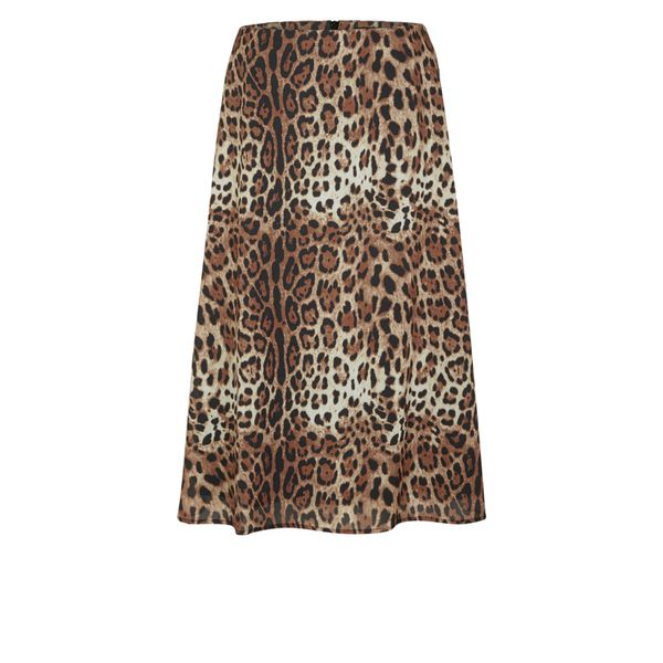 s.Oliver BLACK LABEL - Rock mit Leoparden-Print