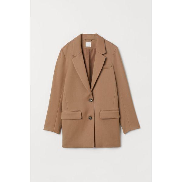 H & M - Oversize-Blazer - Beige - Damen