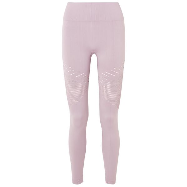 Varley - Jill Leggings Aus Perforiertem Stretch-material - Flieder