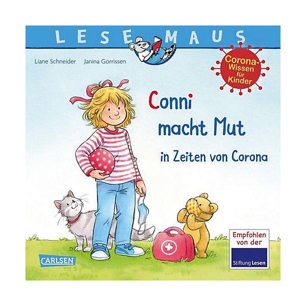 Buch - LESEMAUS 186: Conni macht Mut in Zeiten von Corona