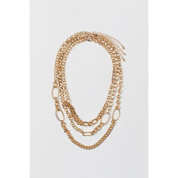 H & M - 3er-Pack Halsketten - Gold - Damen