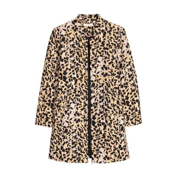 H & M - Kurzmantel - Leopardenmuster - Damen