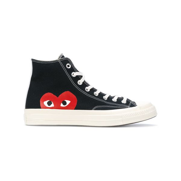 Comme Des Garçons Play 'Play' High-Top-Sneakers - Schwarz