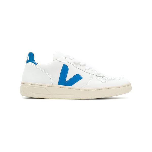 Veja Sneakers mit Kontrastdetails - Weiß