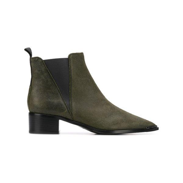 Acne Studios Jensen suede Chelsea boots - Grün