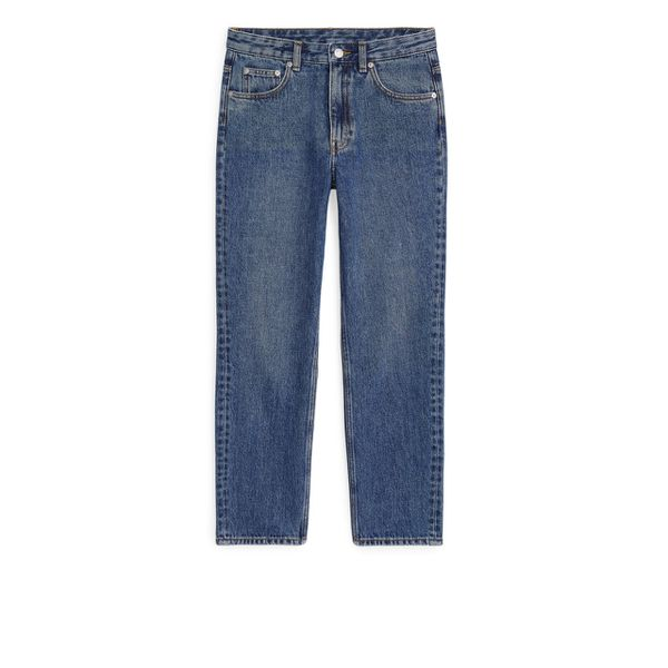 REGULAR Cropped Jeans - Blue