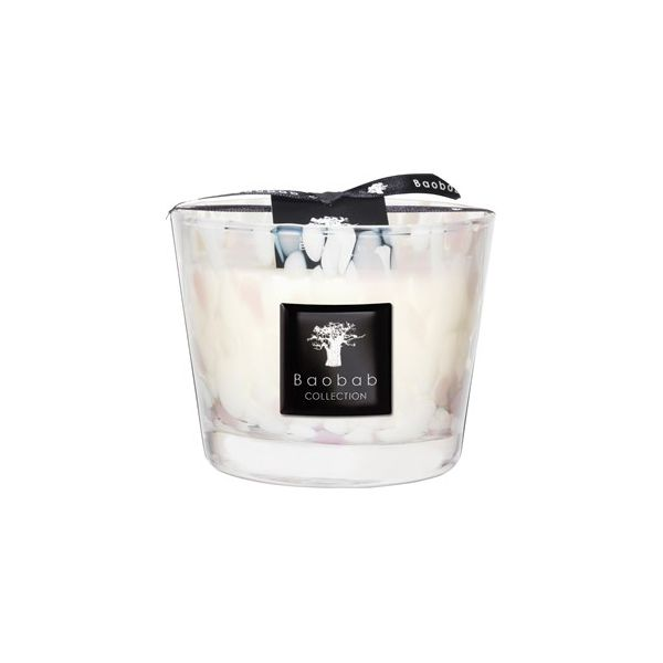 Baobab Raumdüfte Pearls Duftkerze Pearls White Max 10 1 Stk.