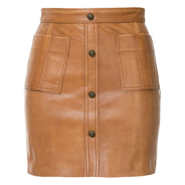 Aje Shrimpton mini skirt - Braun