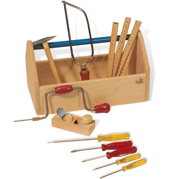 Pinolino Werkzeugkiste mit Werkzeug