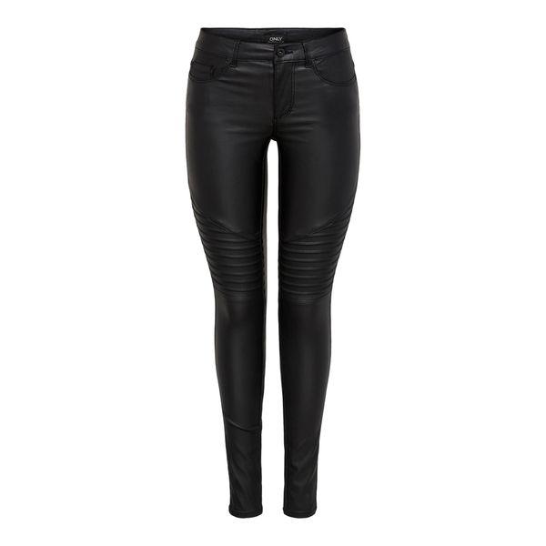 ONLY 'New Royal' Skinny Jeans schwarz