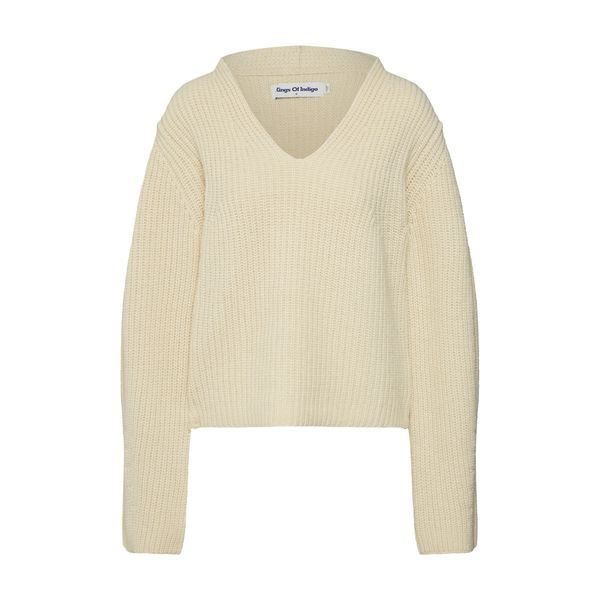Kings Of Indigo Pullover 'Sabina' creme