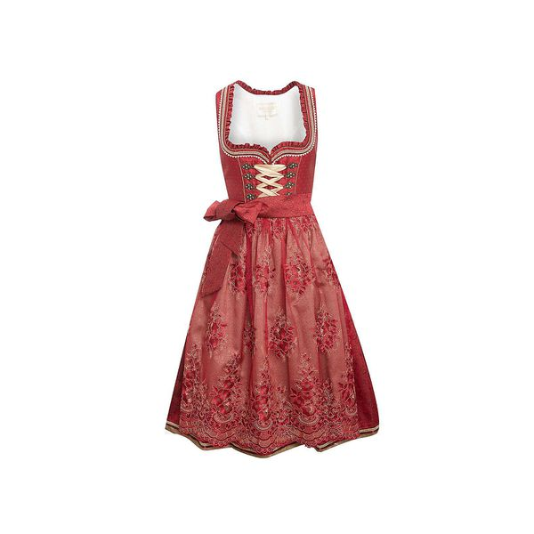 KRÜGER® COLLECTION Midi Dirndl Dirndl rot Damen