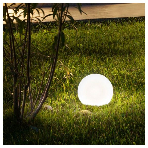 Licht-Trend Aussenkugel »Bolla Garten Ø 30cm in Weiss«