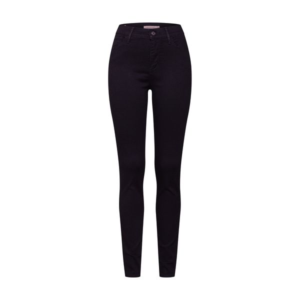 LEVI'S Jeans '720™ HIRISE SUPER SKINNY' schwarz