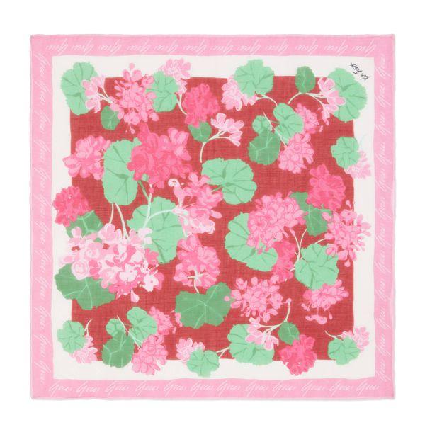 Schal aus Baumwolle mit Print von Ken Scott