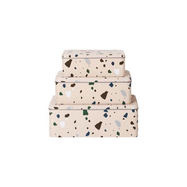 ferm LIVING - ferm LIVING - Aufbewahrungsboxen - Tin Boxen