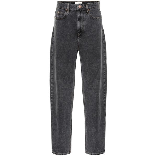 High-Rise Straight Jeans Corsy