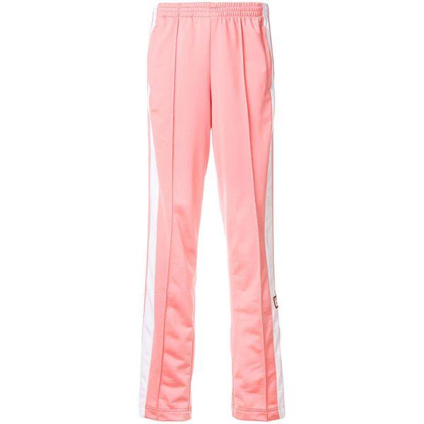 Adidas Jogginghose mit Streifen - Rosa