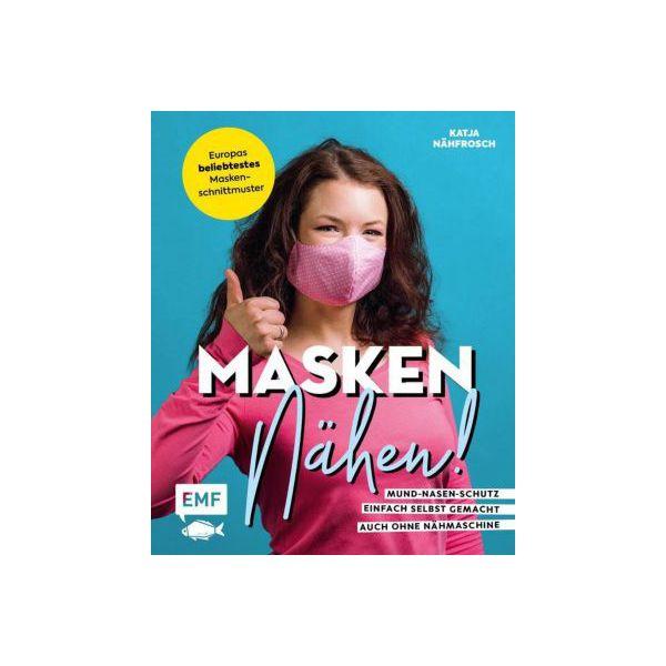 Buch - Masken nähen! - Mund-Nasen-Schutz einfach selbst gemacht