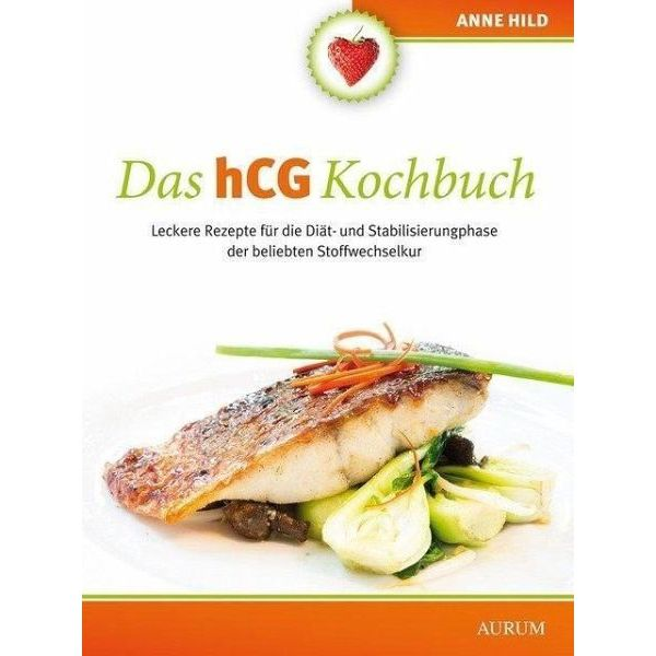 Broschiertes Buch »Das hCG Kochbuch«