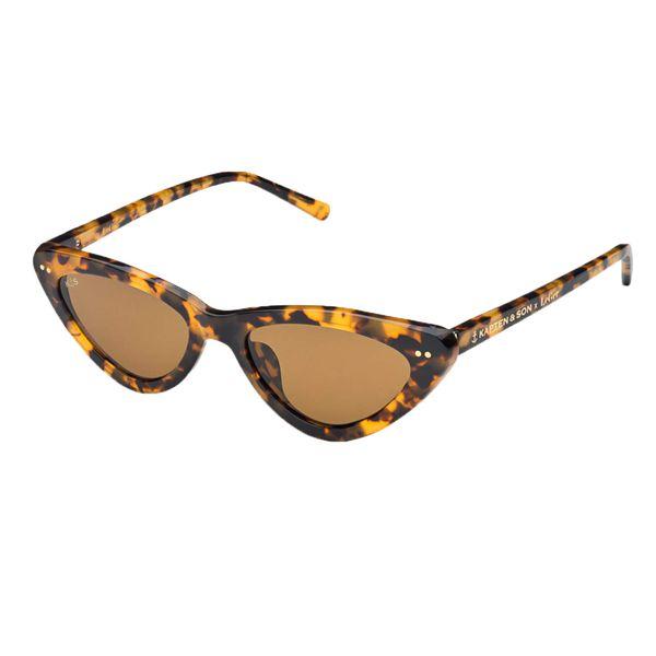 Kapten & Son Sonnenbrille 'LeGer Waikiki Gloss Tortiose' braun
