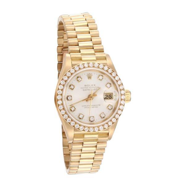 Rolex Datejust 36 Gelbgold in Gold